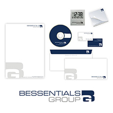 Bessentials Group Stationery Design (Vienna , Austria)