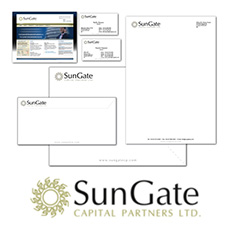 SunGate Stationery Design