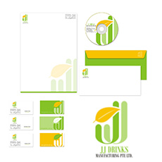 JJ Juices Stationery Design (Singapore)
