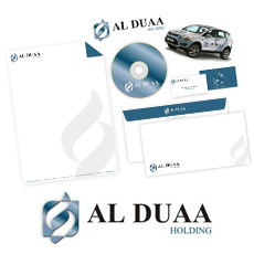 Al-Duaa Holding Stationery Design (Dubai, UAE)