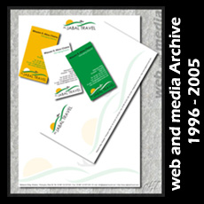 Al-Jabal Travel Stationery Design (Falougha, Hammana, Mount Lebanon, Lebanon)